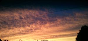 fall clouds